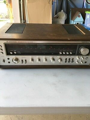 Kenwood Model Eleven Stereo Receiver      Very Nice    Read Ad