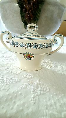 English Myott Staffordshire  model Elegance sugar  bowl