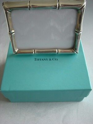 TIFFANY sterling silver ~'BAMBOO' PICTURE FRAME / CALENDAR  ~ FABULOUS!