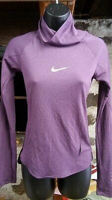 fbb8241d506f3 NEW $110 NIKE AeroReact Pullover Women's Running Top Gym-Training ...