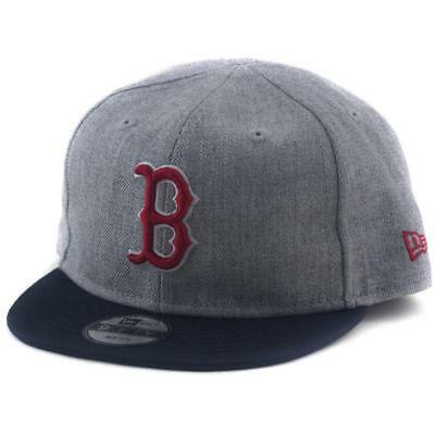 My 1st Boston Red Sox New Era MLB 9Fifty Hat - Baseball Cap In Grey 6-18 Month