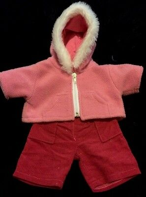 Pink Hoodie And Cargos Outfit Fits Build A Bear