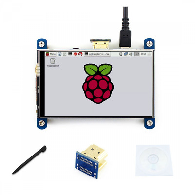 4 inch HDMI LCD Touch Control Screen Resistive 800*480 Resolution IPS interface