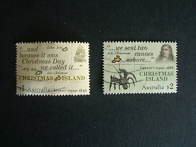 2017 - Christmas Island Early Voyages - Set of Fine Used