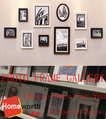 Photo Frame Gallery Picture Decor Size White Black Timber All Sizes frames Gifts