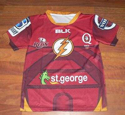 """Queensland Reds. - The Flash Jersey """"Large Size"""""""