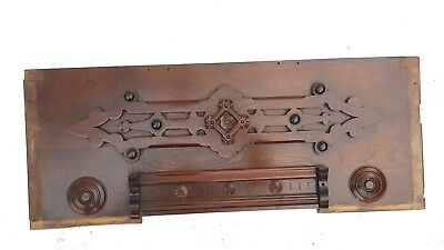 Vintage Header Pediment Entryway Mantle Fireplace Interior