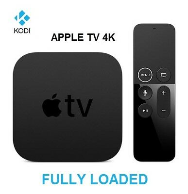 Brand New Apple TV 4K 32GB with Kodi and Popcorn Time