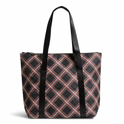 Vera Bradley Factory Exclusive Lunch Cooler Bag in Minsk Plaid NWT!