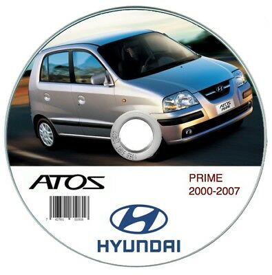 Hyundai Atos Prime 2000-2007 manuale officina workshop manual
