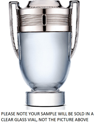 Invictus by Paco Rabanne EDT Mens Cologne Fragrance 2ml, 5ml, 10ml