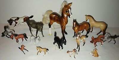 Lot of 16 Breyer Horses Breyer Reeves Molding Co. Classic