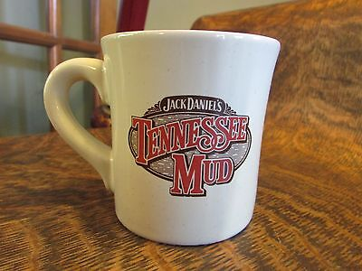 """Vintage Jack Daniels """"tennessee Mud"""" Thick And Heavy Mug Cup, With Recipe"""