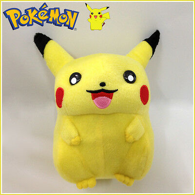 Pikachu Pokemon Electric Mouse Plush Toy Nintendo Game Stuffed Animal Doll 6""