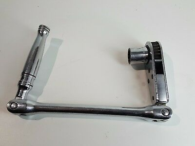 Snap On WA 28AFL Double Jointed alignment Ratchet 7/8 with 3/4 Socket WRENCH