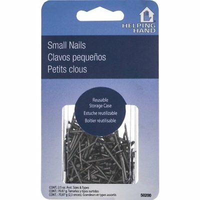 Helping Hand 50200 Assorted Small Straight T-head Nails, 2.5 oz