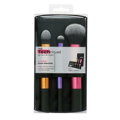 Real Techniques Makeup Travel Essentials Brushes Set uk