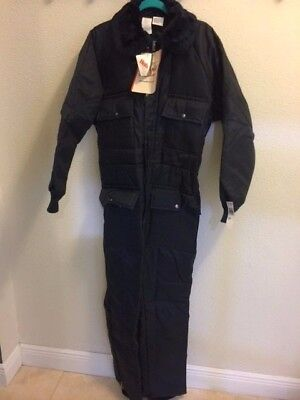 Walls Blizzard Puf Insulated Snowmobile Outdoor Work Coveralls Size Medium Tall