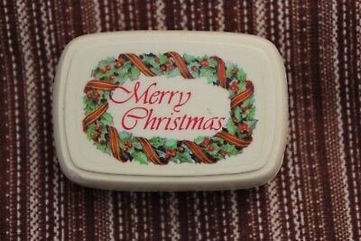 AVON CANADA*Merry Christmas Soap*Original Box*75g*Made in Ireland*VINTAGE*