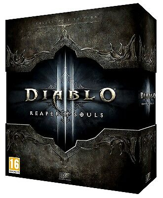 Diablo 3 Reaper of Souls Collectors Edition D3 Sammler - Leerbox  EMPTY Box.