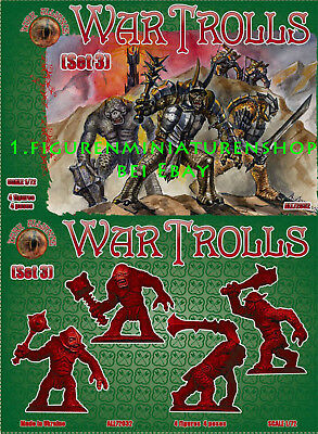 1:72 Figuren All 72032 War Trolls Set 3 - Dark Alliance Neu