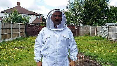 PREMIUM QUALITY Beekeeping suit beekeeper suit bee suit with fencing veil-SMALL