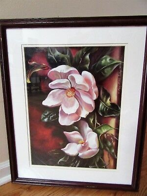 By Peggy Thatch Magnolias flowers
