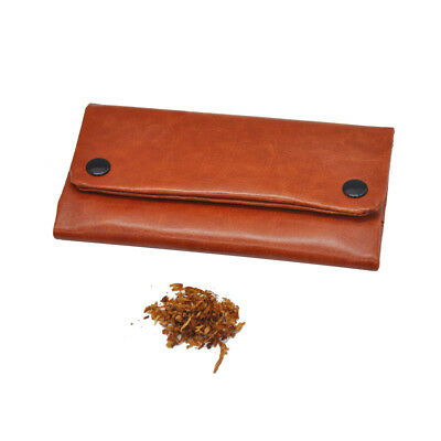 Blague à Tabac Imitation Cuir Tabacco pouch Noir Marron Rouge Black brown Red