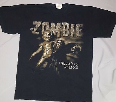 Classic Rob Zombie US tour 'Hellbilly Deluxe'  T shirt (US Large)