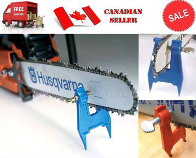 Chainsaw Bar Chain Stump Vise Logger Filing Sharpening Replace Oregon 26368A