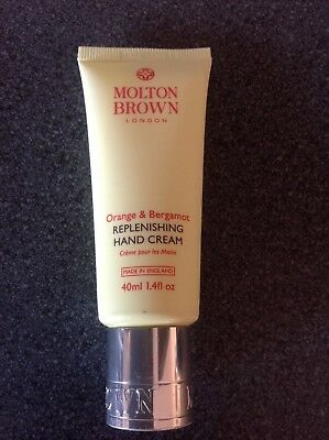 40ml Molton Brown hand cream - Orange & Bergamot gift - NEW sealed FREE POSTAGE