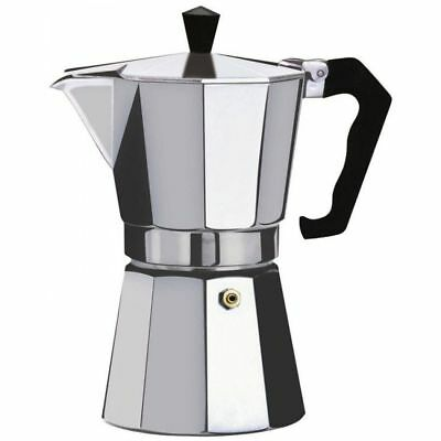 Espresso Stove Top Coffee Maker - Continental Moka Percolator Pot 6cup