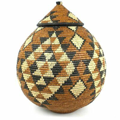 Large Zulu Wedding Basket - One of a Kind - Ilala Weavers  *FREE SHIPPING*