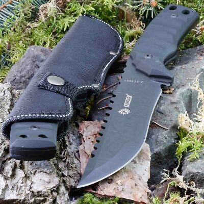 12.17in KANDAR B-3017 FIXED BLADE KNIFE HUNTING A.