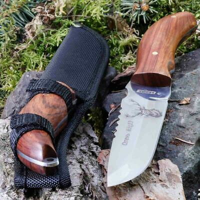 10.63in KANDAR FB-17 FIXED BLADE KNIFE HUNTING A.