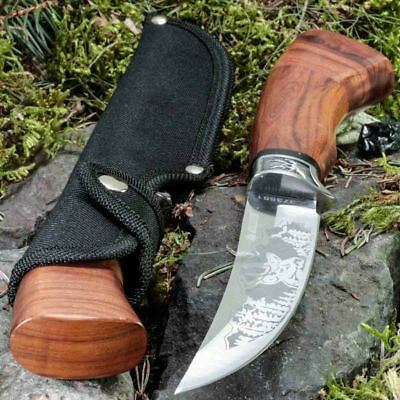 10.94in KANDAR A-3158 FIXED BLADE KNIFE HUNTING A.