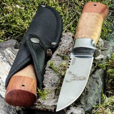 9.92in KANDAR CR-15 FIXED BLADE KNIFE HUNTING A.
