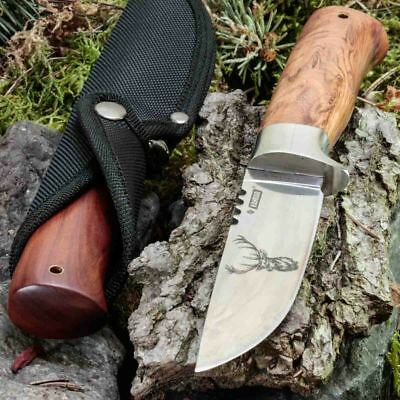 9.96in KANDAR CR-17 FIXED BLADE KNIFE HUNTING A.