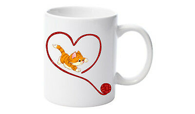 New Funny Novelty Gift Mug for Cat Lovers Ceramic 11 oz Coffee Tea Cup