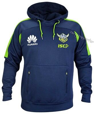 Canberra Raiders 2018 NRL Pullover Squad Hoody Mens, Ladies Kids Sizes