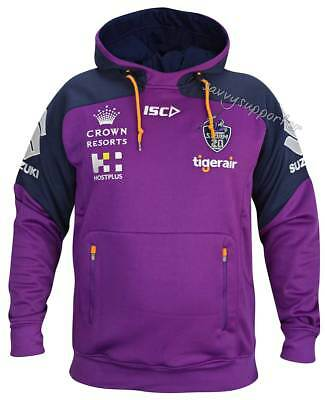 Melbourne Storm 2018 NRL Pullover Squad Hoody Mens and Ladies Sizes