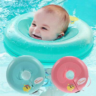 Safety Baby Newborn Swimming Inflatable Neck Ring Float Collar Circle Acid Kids