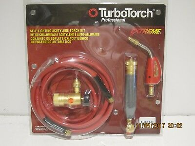 TURBOTORCH PROFESSIONAL, 0386-0832 Acetylene Kit, PL-5A  DLX-MC-FREE SHIP NISP!!