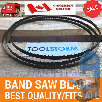 "QUALITY TOOLSTORM BAND SAW BANDSAW BLADE 56-1/8""(1425mm) x 1/4''(6.35mm) x10TPI"