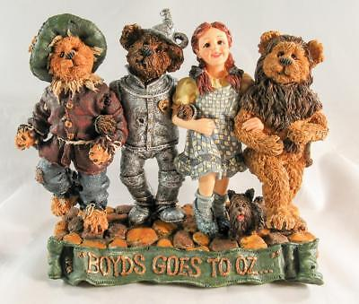 Boyds Bears Dorothy & Company... Off To See The Wizard #227807 Limited Edition