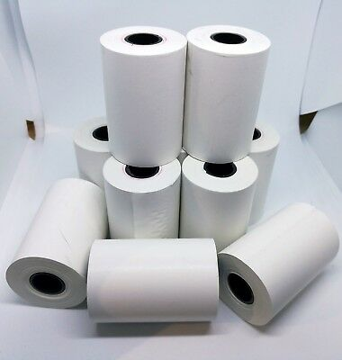 10 Pcs 57x30 57x38 57x48mm Eftpos Rolls Thermal Paper Cash Register Receipt