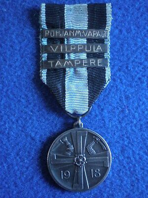 Finland: Commemorative Medal for the War of Independence 1918.