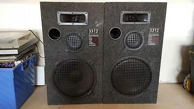 Speakers Acoustic Studio Monitor 3312, Power 150W 8 Ohm