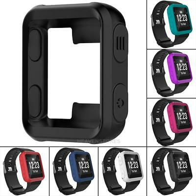 Silicone Protective Case Band for Garmin Forerunner 35/Approach S20 Sports Watch