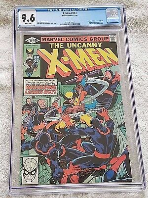 Uncanny X-men #133 CGC 9.6 NM+ White Pages Marvel 1980, Wolverine, Hellfire Club